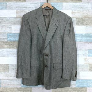 Brooks Brothers Linen Herringbone Sport Coat
